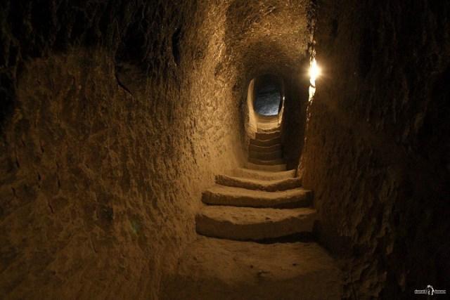 Вардзиа. Монастырский комплекс в Грузии