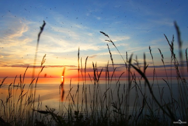 Андома-гора. Закат на Онежском озере. Комары и мошки