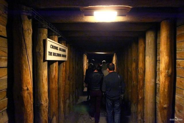 Копи Велички. Подземные переходы в копях