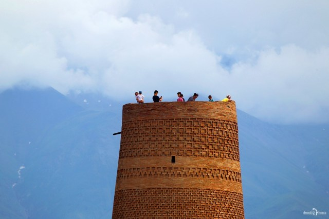 Башня Бурана. Киргизия