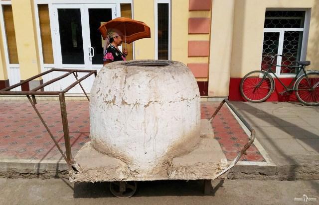 На авто из России в Хиву