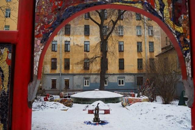 Мозаичный дворик. Детский игровой комплекс