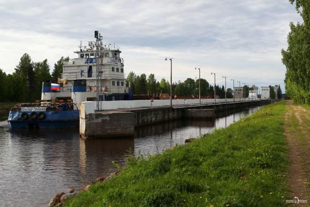 Вытегра. Шлюзы Волго-Балтийского канала