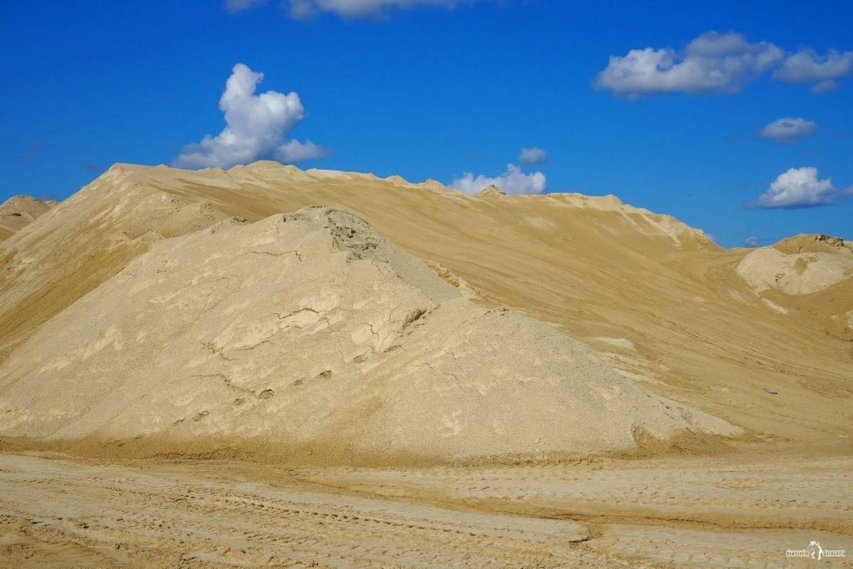 Песочная насыпь