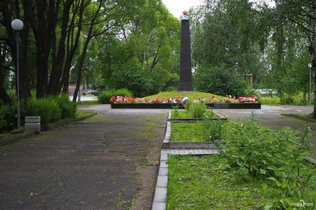 Мемориал в Парке Пашкова. Беломорск
