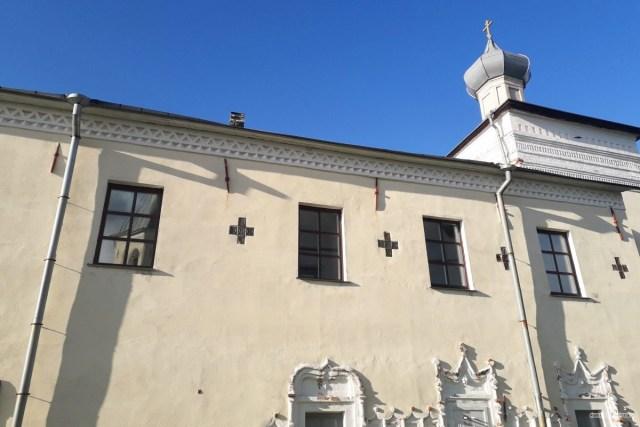 Фрагмент экстерьера Церкви Благовещения Пресвятой Богородицы