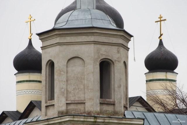Купола Зеленецкого монастыря