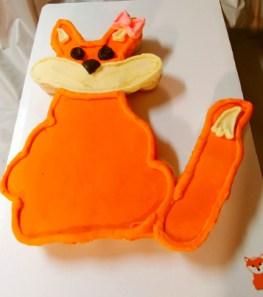 Fox Cupcake Cake