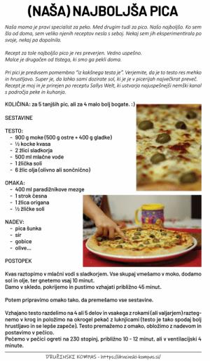 PICA - recept