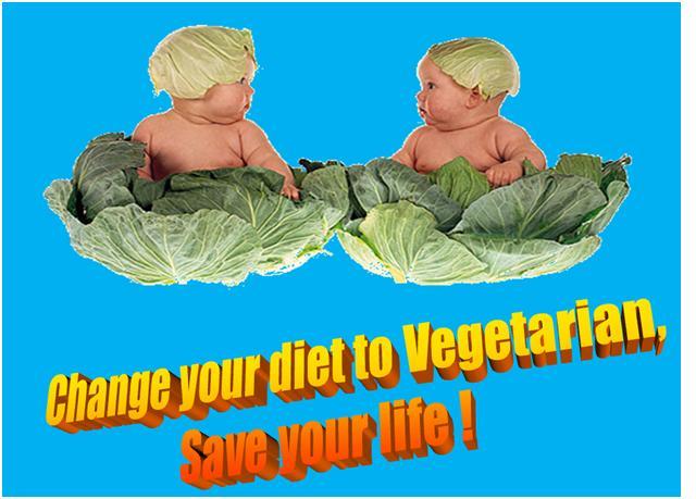 Change Your Diet To Vegetarian
