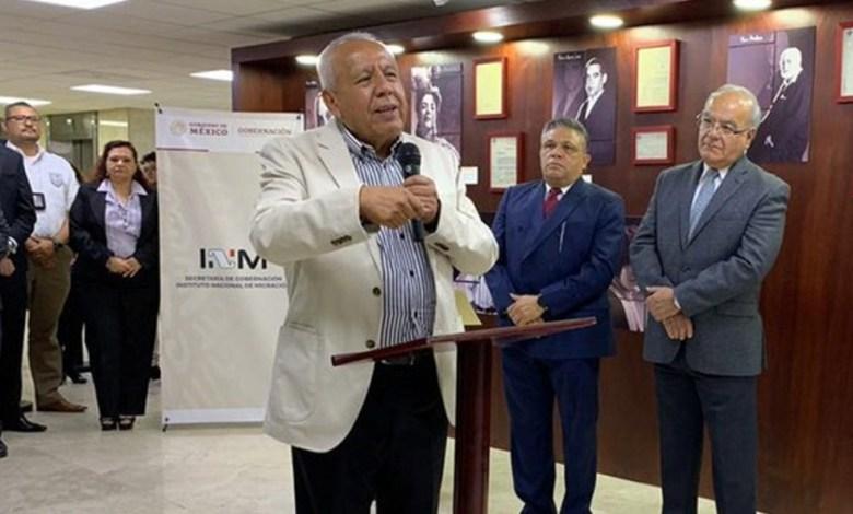 Francisco Garduño Yáñez, comisionado del Instituto Nacional de Migración (INM)