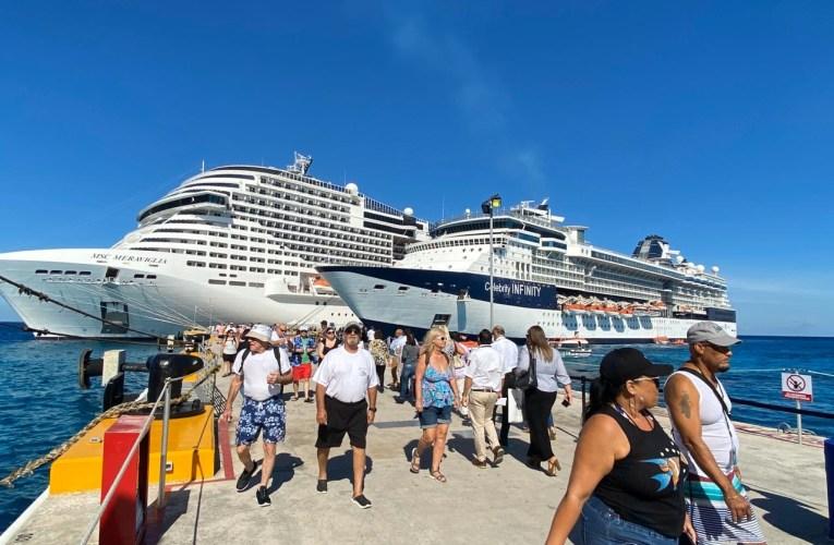 Cozumel recibe por primera vez al crucero italiano MS Meraviglia