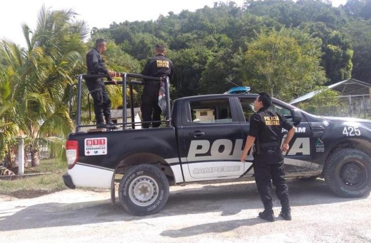 Policías de Campeche invaden territorio de Quintana Roo