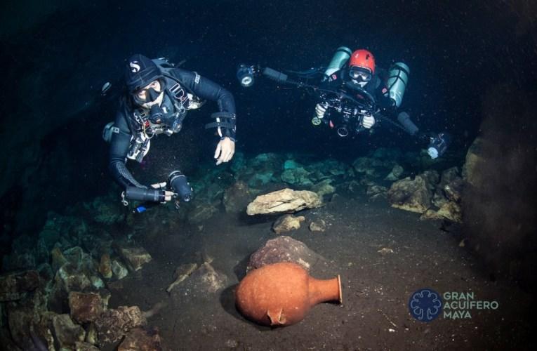 INAH, Suiza y National Geographic Society se unen para proteger el patrimonio de cuevas y cenotes en la península de Yucatán.