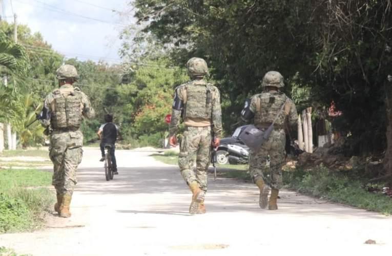 La Guardia Nacional llega para quedarse en Felipe Carrillo Puerto