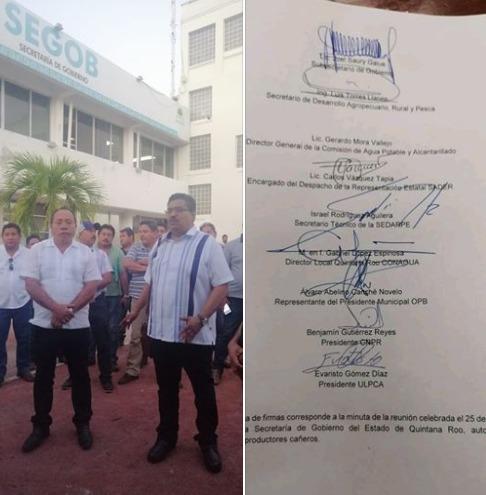 Suspenden movilización de cañeros; gobierno pide plazo de 24 horas