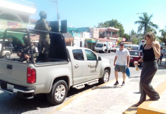 Refuerza vigilancia la Semar en Isla Mujeres