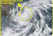 Photo of En las próximas horas, el centro de la tormenta tropical Cristobal permanecerá en tierra sobre Campeche