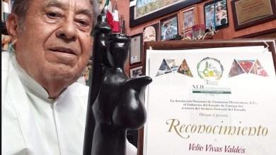 Photo of Fallece el Cronista de Cozumel, Velio Vivas Valdez