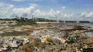 Photo of Oleaje destruye playa artificial de complejo hotelero en Chemuyil