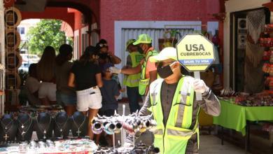 Photo of Tulum: hay varios detenidos por no usar cubrebocas en la vía pública