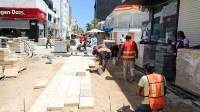 Photo of Transformación de la 5ta Avenida en Playa del Carmen no detiene su marcha