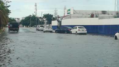 Photo of Lluvias en Cancún dejan varias zonas inundadas
