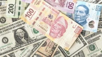Photo of Peso recupera 26 centavos y pone fin a racha de cuatro caídas; dólar en 22.05 unidades
