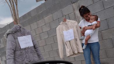 Photo of Mujer intercambia ropa por pañales para su bebé y recibe ayuda en Monterrey