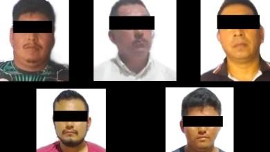 Photo of Rescatan a 37 migrantes al sur de Veracruz; caen 5 por tráfico de personas