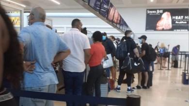 Photo of Afectaciones registradas hasta el momento debido al clima en el Aeropuerto de Cancún