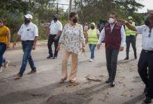 Photo of Recorrieron autoridades estatales y municipales afectaciones de Zeta y puesta en marcha de reactivación en Solidaridad