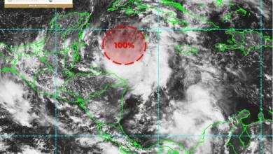 Photo of Zona de baja presión frente a las costas de Quintana Roo, aumenta a 100% su probabilidad para desarrollo ciclónico