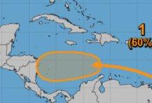 Photo of Presenta zona de baja presión en el mar Caribe un 60% de desarrollo ciclónico