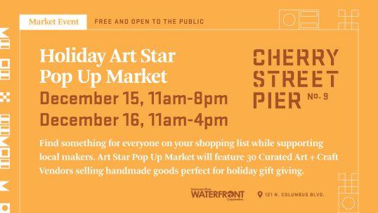 Image result for Holiday Art Star Pop Up Market