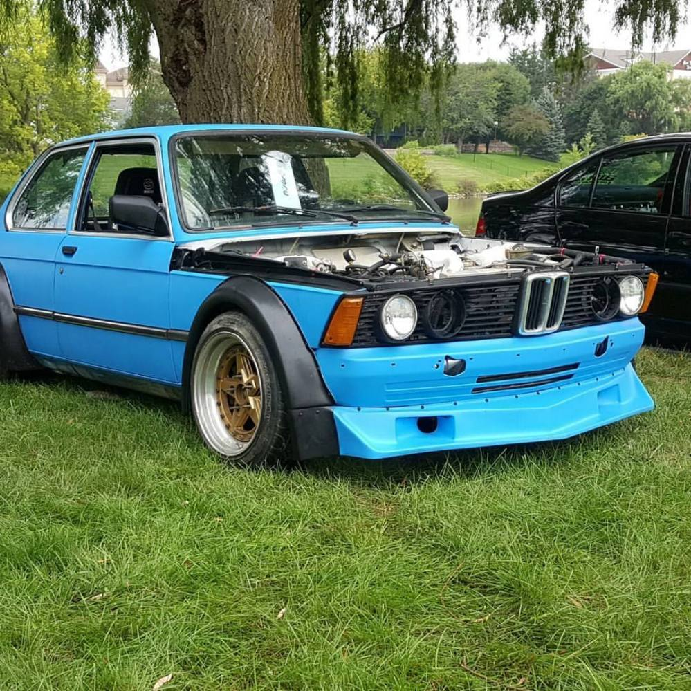 medium resolution of bmw e21 wide body fenders group 2