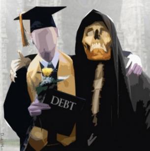 death grip of debt