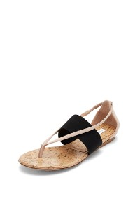 Portia Slip On Sandal on sale now + 15% cash back at DVF