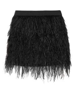 Mason by Mason Michelle Feather Mini Skirt on sale now + 15% cash back at Intermix