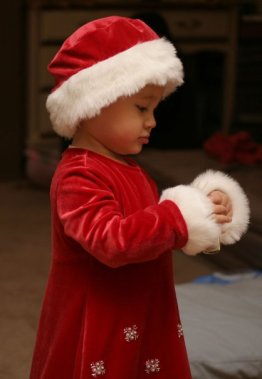little ms santa claus