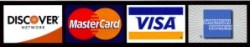 Accepting Major Credit Cards