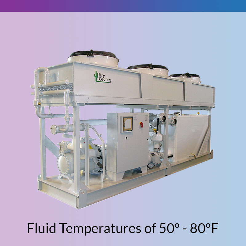 Mechanical Chillers for Fluid Temperatures of 50-80F