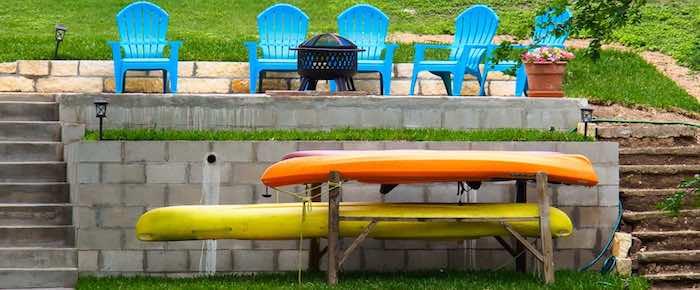 Sunday Photos: Kayaks Along The Guadalupe