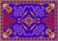 Flying Carpet Aladdin Al