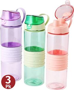 REUSABLE WATER BOTTLES FOR KIDS