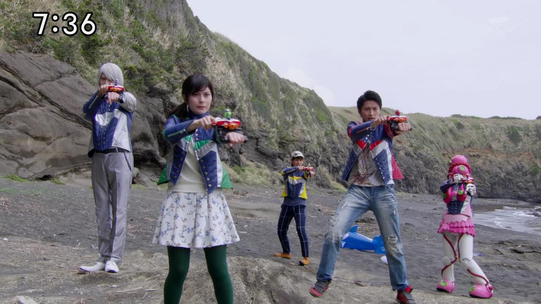 Recap: Uchu Sentai Kyuranger, Space (Episode) 15 \u2013 Saviors of the ...