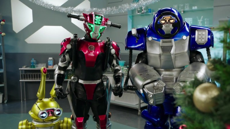 """Recap: Power Rangers Beast Morphers Christmas Special –  """"Taking a bath is very human."""""""