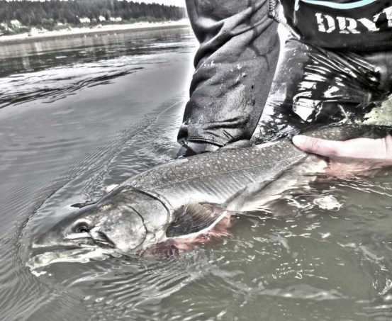 dryft waders bull trout fly fishing
