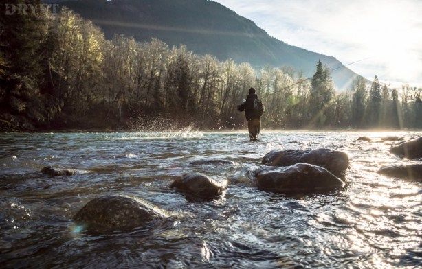 Spey casting for steelhead