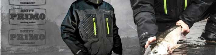DRYFT Primo breathable waterproof wading jacket